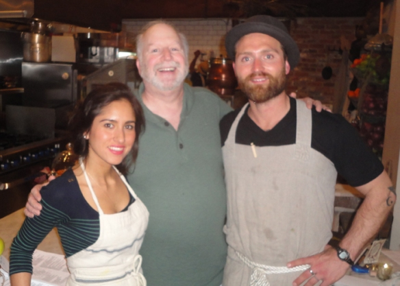 Me with Christina and John of Le Salbuen