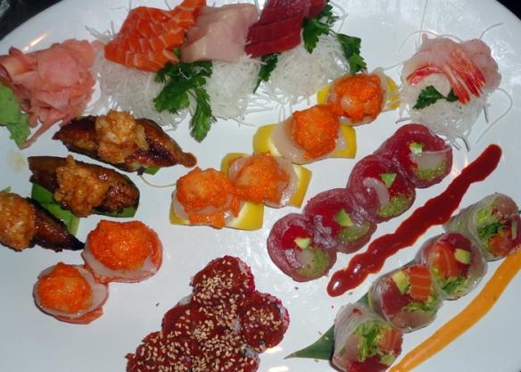Oishii's delectable sushi
